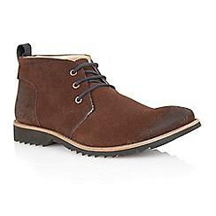 Lotus - Brown suede 'Kingswood' mens shoes