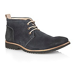 Lotus - Navy suede 'Kingswood' mens shoes