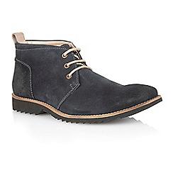 Lotus - Navy suede 'Kingswood' mens shoes