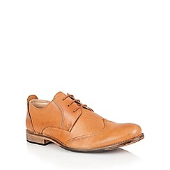 Lotus - Burnished tan leather 'Kade' mens shoes