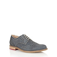 Lotus - Navy leather 'Sandford' mens shoes