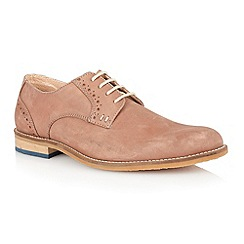 Lotus - Tan washed leather 'Banwell' mens shoes