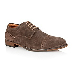 Lotus - Brown suede 'Telford' mens shoes