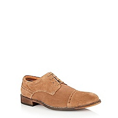 Lotus - Sand suede 'Telford' mens shoes