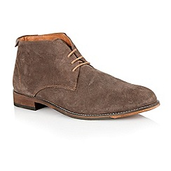 Lotus - Brown suede 'Wedbury' mens shoes