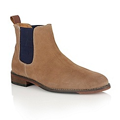Lotus - Sand suede 'Burton' mens shoes