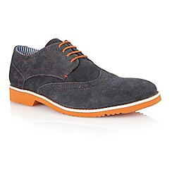 Lotus - Navy suede 'Deacon' mens shoes