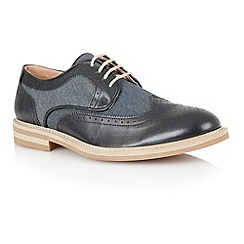 Lotus - Navy grey 'Brampton' mens shoes