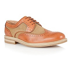Lotus - Tan natural 'Brampton' mens shoes