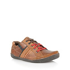 Lotus - Brown multi leather 'Brixham' mens shoes