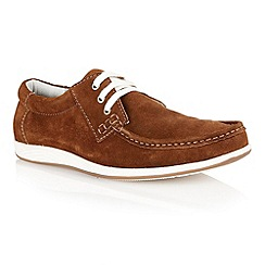 Lotus - Golden brown suede 'Allington' mens shoes