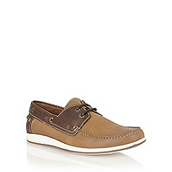 Lotus - Chestnut leather 'Exmouth' mens shoes