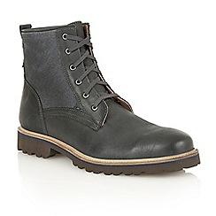 Lotus Since 1759 - Black nubuck 'Kinley' chukka boots