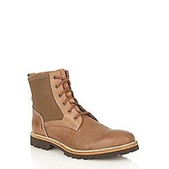 Lotus Since 1759 - Tan nubuck 'Kinley' chukka boots