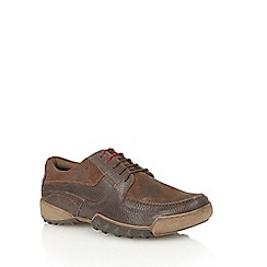 Lotus Since 1759 - Brown leather suede 'Moloch' lace up shoes