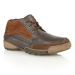 Lotus Since 1759 - Brown leather suede 'Templeman' desert boots