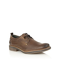 Lotus Since 1759 - Brown leather 'Buller' lace up shoes