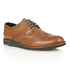 Lotus Since 1759 - Tan leather 'Downey' lace up shoes