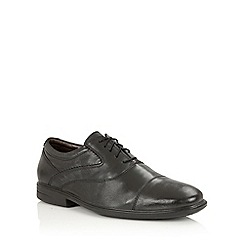 Lotus Since 1759 - Black leather 'Brindley' oxford shoes