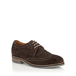 Lotus Since 1759 - Brown suede 'Zachary' casual brogues