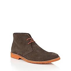 Lotus Since 1759 - Brown suede 'Lansdowne' chukka boots