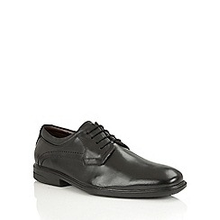 Lotus Since 1759 - Black leather 'Faraday' oxford boots