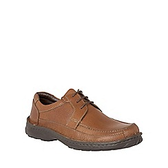 Lotus Since 1759 - Brown leather 'Coleman' oxford shoes