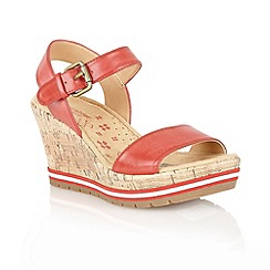 Naturalizer - Red 'Norton' open sandals