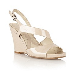 Naturalizer - Taupe 'Bandelle' open sandals