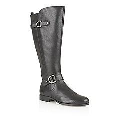 Naturalizer - Black 'Jersey' knee high boots