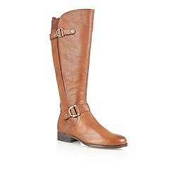 Naturalizer - Banana bread 'Jersey' knee high boots