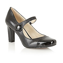 Naturalizer - Black 'L-Ulrich' court shoes