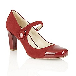 Naturalizer - Red 'L-Ulrich' court shoes