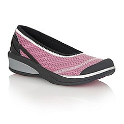 Naturalizer - Magenta 'Flawless' trainers
