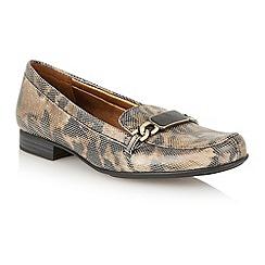 Naturalizer - Natural cheetah 'Radka' loafer shoes