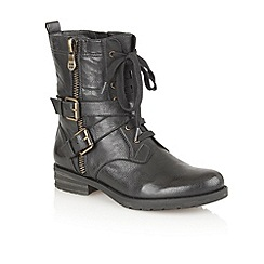 Naturalizer - Black 'Bravery' ankle boots