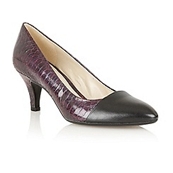 Naturalizer - Black 'Gusta' court shoes