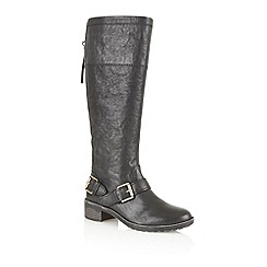Naturalizer - Black 'Macnair' knee high boots