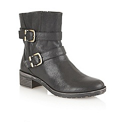 Naturalizer - Black 'Mona' ankle boots