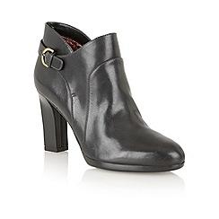 Naturalizer - Black 'Argon' ankle boots