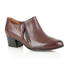Naturalizer - Brown 'Tipley' ankle boots