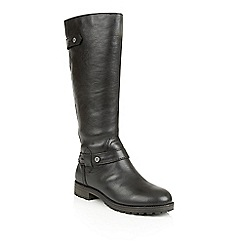 Naturalizer - Black leather 'Tanita' boots