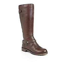 Naturalizer - Tan leather 'Tanita' boots