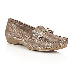 Naturalizer - Metallic snake 'Gloria' loafers