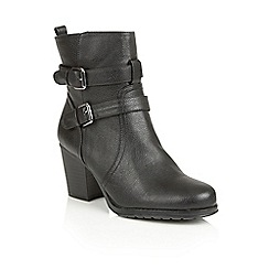 Naturalizer - Black 'Transform' ankle boots