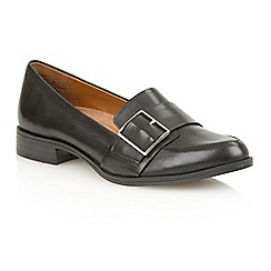 Naturalizer - Black leather 'Melanie' flats