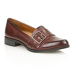 Naturalizer - Cordovan leather 'Melanie' flats