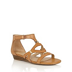 Naturalizer - Camelot leather 'Juniper' strappy sandals