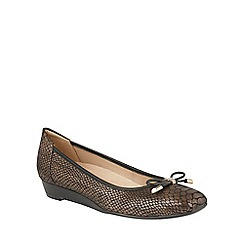 Naturalizer - Metallics leather 'Dove' ballet flats