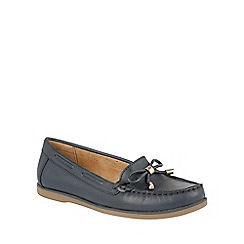 Naturalizer - Blue leather 'Hadlie' loafers